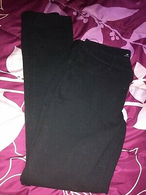 Girls Size 16 Black SO Brand Jeggings Combine Shipping