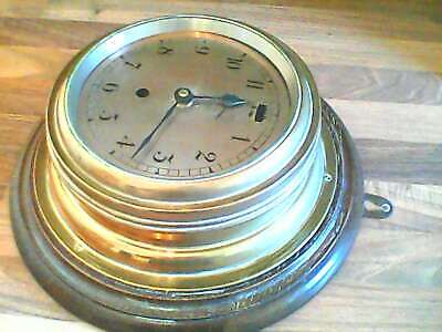Brass Case Clock