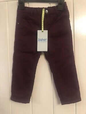 Designer Baby Boys Ted Baker Jeans / Chinos Age 9-12 Mth