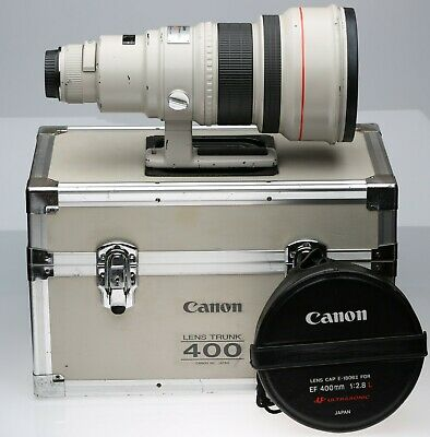 Canon EF 400mm f/2.8 L USM Lens BARGAIN, READ! No Hood.
