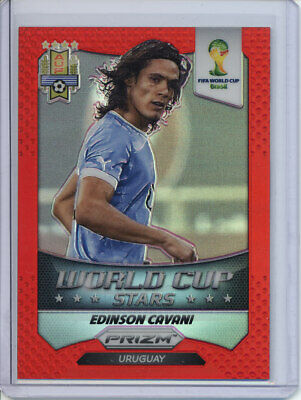 PANINI PRIZM WORLD CUP 2018 ☆☆ rouge parallèle ☆☆ FOOTBALL CARTES #//149