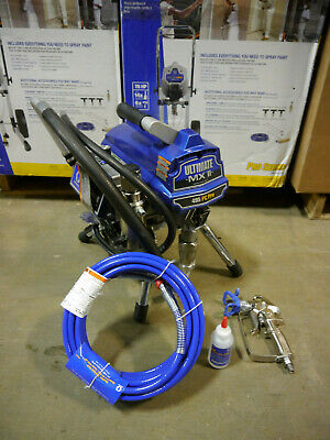 Graco ULTIMATE MX II 495 PC STAND 826202 includes new Gun and Hose! B Condition