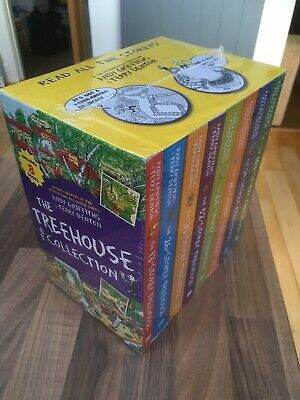 New Sealed The Treehouse Storey Collection 8 Books 13-104 Set Andy Griffiths