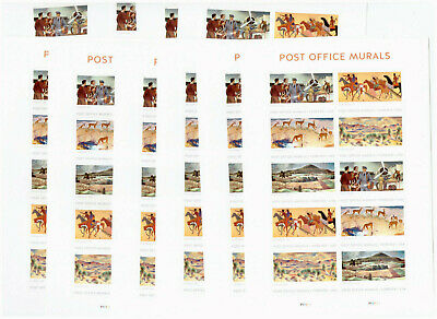 Us $55.00 Face Mint / Nh Postage Lot Of Ten (10) Forever Panes Of Ten (10) Each!