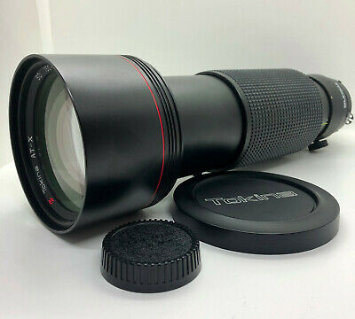*APP.N.MINT*【AS IS】Tokina AT-X SD 150-500mm f/5.6 Lens for Nikon F mount #02131