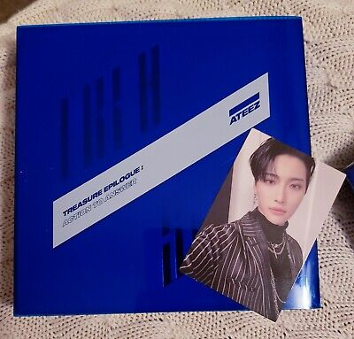 Ateez Treasure: Action to Answer Z Ver, w/ Seonghwa photocard