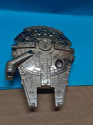 Millenium Falcon Belt Buckle Star Wars Authentic LucasFilm Item Chuy n Han Solo
