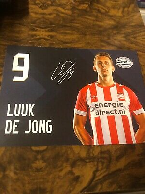 Signed Photo Luuk de Jong Psv Eindhoven New