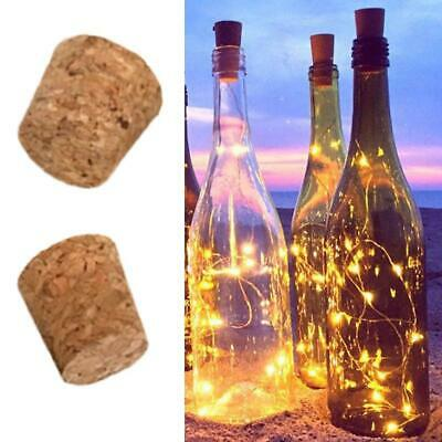 10pcs Tapered Natural Cork Bottle Stoppers Wine Corks Crafts