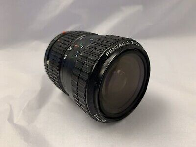 Pentax-A 28-80mm F3.5-4.5 Manual Zoom Lens With Macro