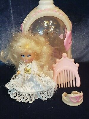 Vintage 1992 Krystal Princess Bride Doll Dome Comb Wedding Dress Crown