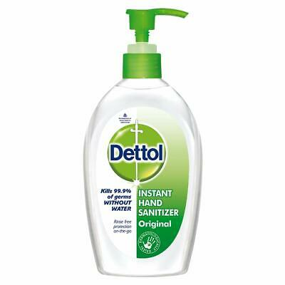 Dettol Instant Hand Sanitizer 200ml, kills 99.9% germs, free shipping