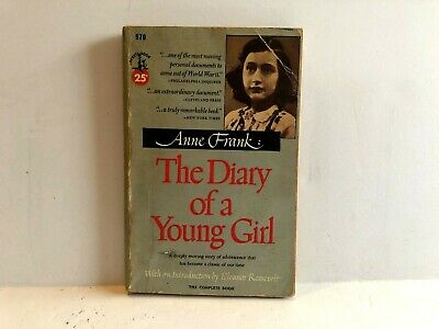 Anne Frank The Diary of a Young Girl 1952 Paperback Pocket Books 970 Early