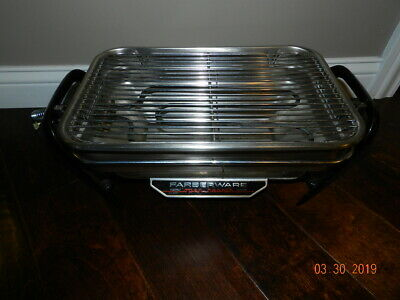 Farberware Electric Open Hearth Rotisserie Broiler Grill Indoor Model 450 A