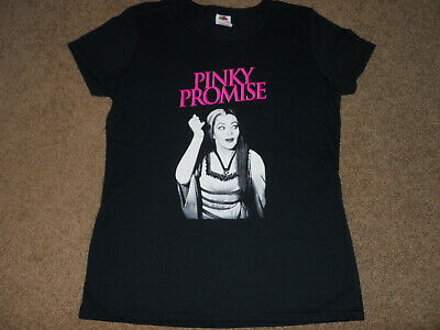 Lily Munster Pinky Promise T Shirt Woman's cut M Med Medium NWOT
