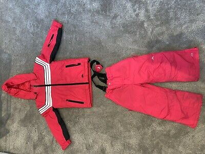 Age 3 Trespass Girl Pink Ski Jacket And Trousers, Worn Once 💖💖💖