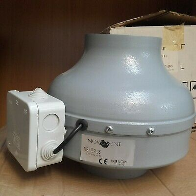 Extractor Novovent Tub 125 Plus