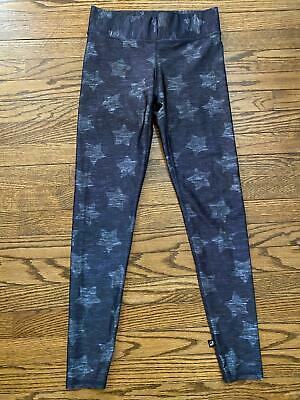 Terez Navy Blue Star Leggings Size M