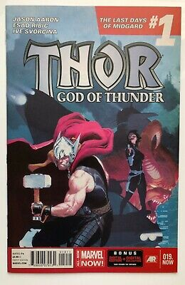 Thor God of Thunder #19 | 1st Dario Agger The Minotaur | Near Mint | Marvel 2014