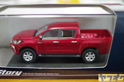 High Story 1/43 Toyota Hilux Z 2017 Hs204 Re Crimson Spark Red Metallic