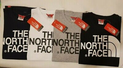 The North Face Men's Crew Neck Short Sleeve Cotton T Shirt S to XXL
