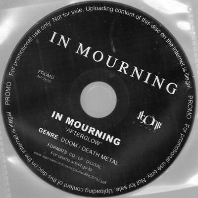 In Mourning Afterglow CD Agonia Records 2016