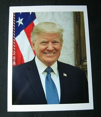 President Donald Trump Official Portrait Photo Smiling Plus Mike Pence FREE SHIP