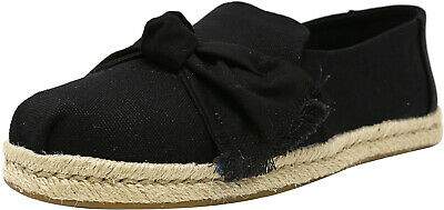 Toms Women's Deconstructed Alpargata Rope Canvas Ankle-High Slip-On Shoes