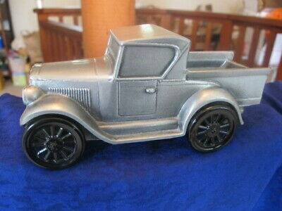 VTG 1928 Chevrolet Pick Up Truck Banthrico Coin Savings Bank Of Mendocino Ca