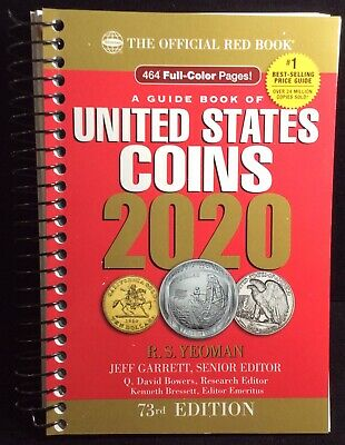 Official RED BOOK Guide Of United States Coins — 2020 Edition R.S. Yeoman