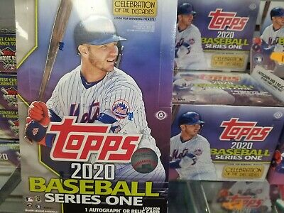 2020 Topps Series 1 Factory Sealed HOBBY Box with silver pack FREE SHIPPING!