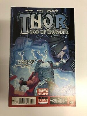 THOR GOD OF THUNDER 20  1st Appearance Of Dario Agger Minotaur And Old Galactus