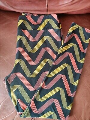 Lularoe Multi-color Leggings Size TC
