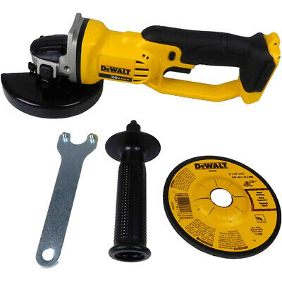 """Dewalt DCG412B 20V MAX 4 1/2"""" / 5"""" Cordless Grinder with Wheel (Tool Only) NEW!"""