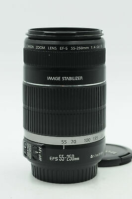 Canon EF-S 55-250mm f4-5.6 IS Lens 55-250/4-5.6 EFS                         #413