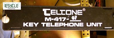 Teltone Key System Intercom Unit M-417-07