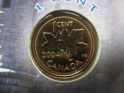 2004 Canadian Prooflike Penny ($0.01) P