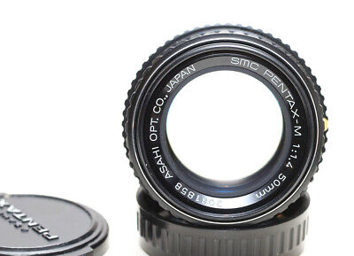 Pentax-M 50mm f/1.4 lens, for Pentax, Canon or mirrorless