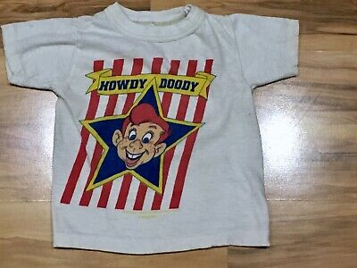 Vintage 50's 60's Baby Toddler Youth HOWDY DOODY T-SHIRT