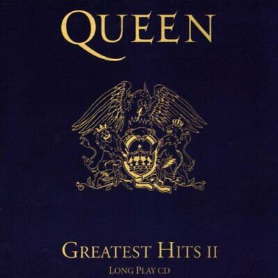 Queen - Greatest Hits II - Queen CD X0LN The Cheap Fast Free Post The Cheap Fast