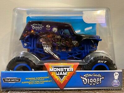 Spin Master Monster Jam Son Of A Digger Truck Grave 2020 Edition 1:24 Scale New