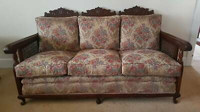 Jacobean 3 piece lounge suite. Mint condition. Antique furniture at best.