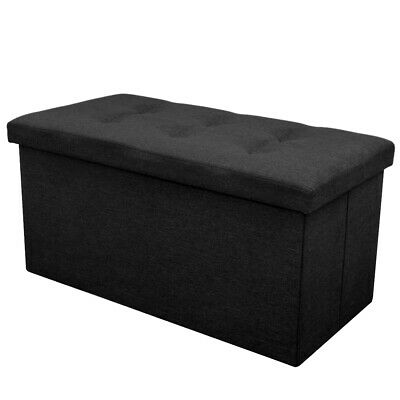 Oval Faux Leather Footstool Footrest Foot Stool Ottoman Pouffe Padded Seat Chair