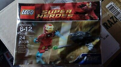 Lego 30167 Super Heroes Iron Man . Avengers. Brand New. Sealed.
