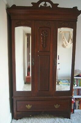 Antique wardrobe wood collection TA21 Wellington Somerset