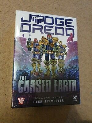 Judge Dredd: The Cursed Earth An Expedition board card Game by Peer Sylvester