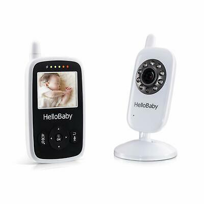 HelloBaby Video Baby Monitor with Camera - Infrared Night Vision Two-Way Talk...