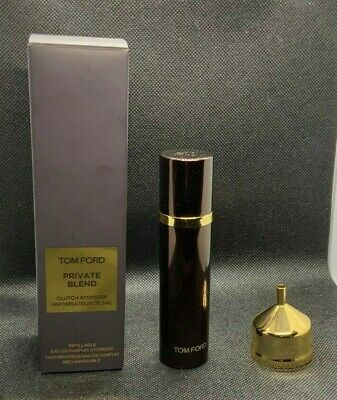 TOM FORD OFFICIAL CLUTCH ATOMIZER. REFILLABLE FOR TRAVELING. SIZE 10ml.