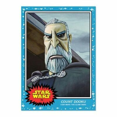 2019 Topps Star Wars Living Set Wk 35 Bundle 69-70 Max Rebo+Count Dooku In Hand