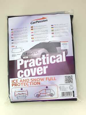 CarPassion Car Windscreen Mirror Cover Frost Ice Snow Shield Screen Protector